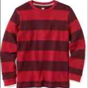 Old navy striped thermal shirt for kids